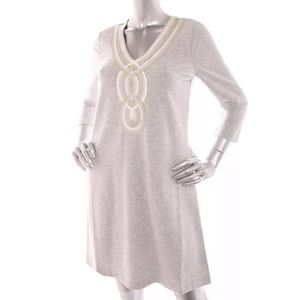 Lilly Pulitzer Dresses - Lilly Pulitzer Women Piping Dress Gray M
